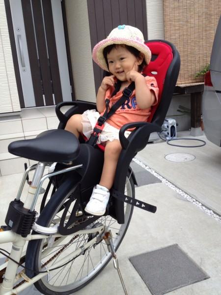 無印良品の自転車に子供用二人 ...