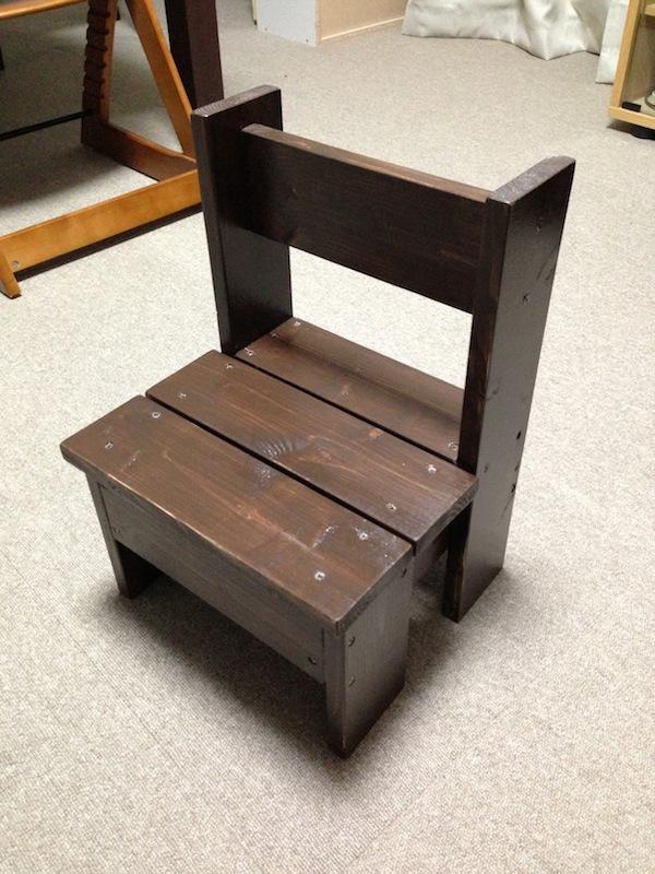 DIY 子供用 椅子